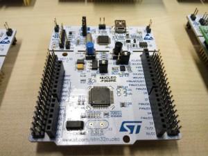 ST32 Nucleo panelok